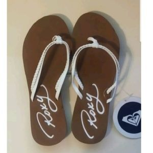 Roxy Girl RG Cabo Flip Flops Youth size 13